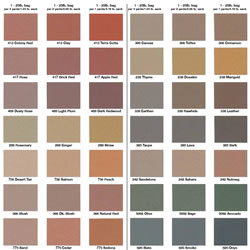 Stamped Concrete Color Schemes