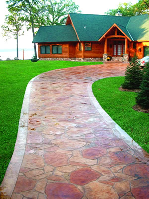 Stamped Concrete Design Ideas cost for concrete patio overlay poured fabulous decorative resurfacing columbus ohious leader in resurface driveway stamped Verlennich Masonry And Concrete