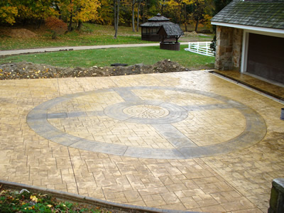 verlennich masonry and concrete decocrete by weaver concrete specialties inc beyond concrete cornerstone concrete designs - Stamped Concrete Design Ideas