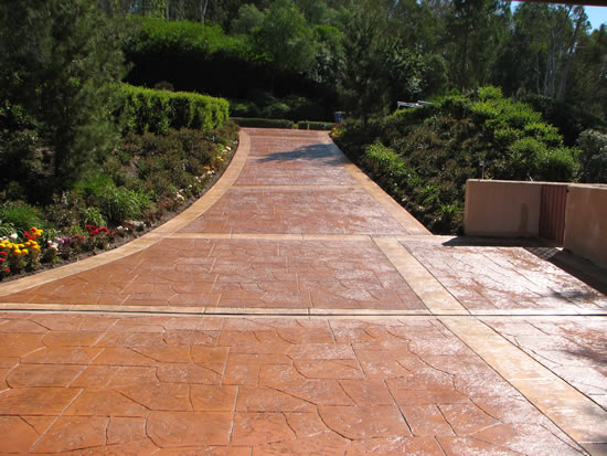 Staintec Best Stamped Concrete Ozark Patterned Cazares Construction