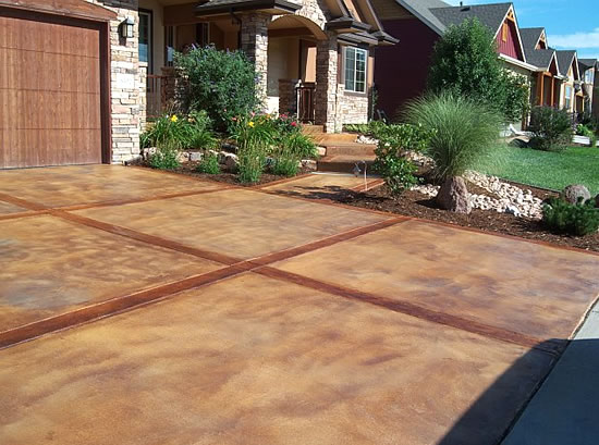 Staintec Best Stamped Concrete Ozark Patterned Cazares Construction Belman Living Futura Stone