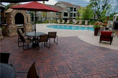 Stamped Pool Deck Photo Gallery