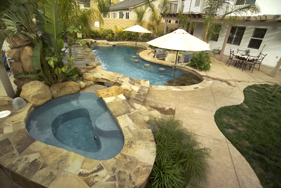 Photos Of Stamped Concrete Pool Decks