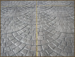 Hoston Stamped Concrete European Cobblestone