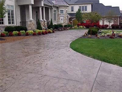 Simple Stamped Concrete Designs