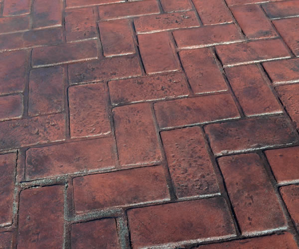 Stamped Concrete Patterns Home Decor